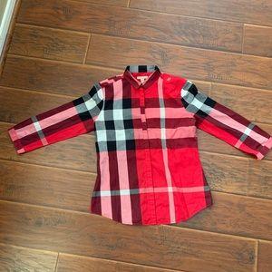 Burberry Brit Women's Button Up Shirt